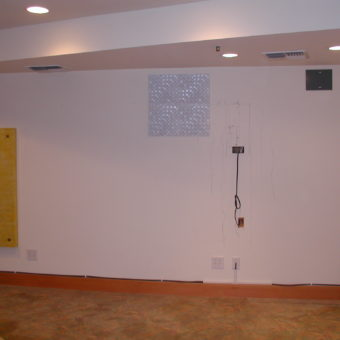 Side Walls Acoustic Diffusors