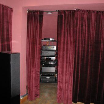 Audio Video Closet